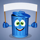 Garbage bin for recycling Royalty Free Stock Images