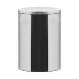 Garbage bin on white Stock Photos