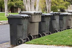 Garbage Bins Royalty Free Stock Images