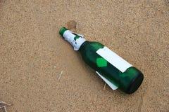 Garbage bottle Royalty Free Stock Image