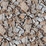Garbage broken tseamless background texture Royalty Free Stock Photos