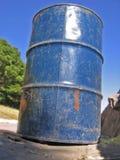 Garbage Can. Metal Trash Bin Stock Photos
