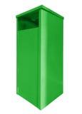 Garbage can - green Stock Photos