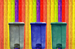 Garbage can Royalty Free Stock Images