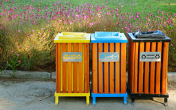 Garbage Cans Stock Photos