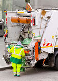 Garbage cleaner Royalty Free Stock Image