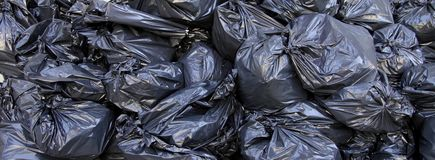 Garbage closeup Stock Photo