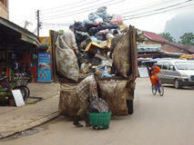 Garbage collection Stock Image