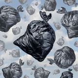 Garbage concept stock illustration