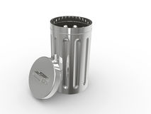 The garbage container Royalty Free Stock Images