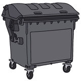Garbage container Stock Images