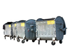 Garbage containers Royalty Free Stock Images