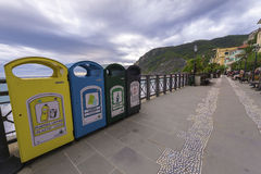 Garbage Containers Royalty Free Stock Photos