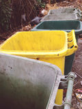 Garbage detail lying in the street Royalty Free Stock Images