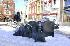 Garbage disposal royalty free stock photography
