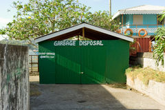 A garbage disposal site at port elizabeth for visitors on yachts Stock Photography