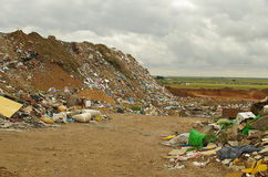 Garbage dump 01. Garbage dump, various rubbish and trash Royalty Free Stock Image