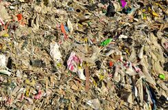 Free Garbage Dump With Construction Waste. Trash Disposal And Food Waste. Recycling Of Waste At Junk Yard. Dispose The Rubbish In Stock Photography - 220165322