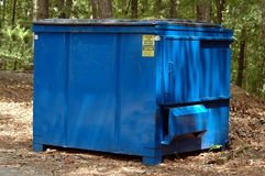 Garbage dumpster Royalty Free Stock Images