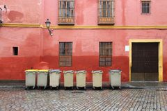 Garbage dumpsters Royalty Free Stock Image