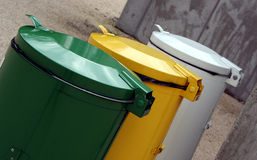 Garbage dustbin Royalty Free Stock Images
