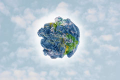 Garbage Earth Stock Image