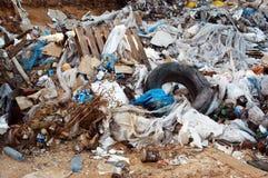 Garbage. And environmental waste Royalty Free Stock Photos