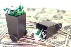 Garbage fees Royalty Free Stock Image