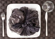 Garbage food Stock Photos