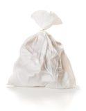 Garbage: Full Garbage Bag Tied Shut Stock Photography