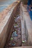 Garbage in Goa Stock Photo