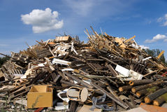 Garbage heap Stock Photos