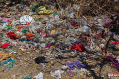Garbage in India Stock Photography