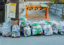 Garbage Management in Kyoto, Stock Photo