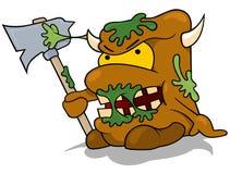 Garbage Monster Stock Image