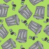 Garbage pattern Royalty Free Stock Images