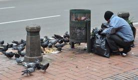 Garbage Picker Royalty Free Stock Image