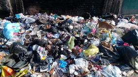 Garbage PICTURE. Can be used by many companies Royalty Free Stock Photos