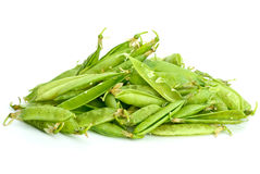Garbage pile: pea pods Royalty Free Stock Photo