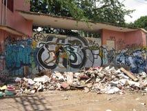 Garbage Piled Up Stock Photo