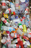 Garbage plastic bottles Royalty Free Stock Photography
