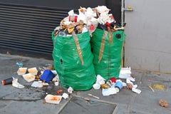 Garbage problem Stock Image
