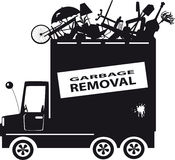 Garbage removal Royalty Free Stock Image
