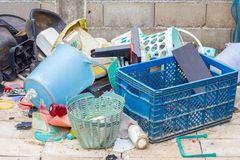 Garbage for reuse Royalty Free Stock Images