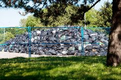 Garbage Storage Site Stock Photos