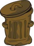 Garbage tank Stock Photo