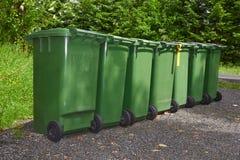 Garbage tanks Stock Photo