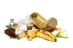 Garbage and trash royalty free stock photo