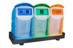 Garbage Trash Bin Stock Photo