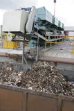 Garbage treatment plant Royalty Free Stock Image